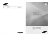 Samsung PS42C450B1W User Manual