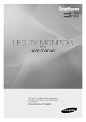 Samsung T22B350EW User Manual