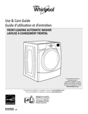 Whirlpool  WFW9351YW Use And Care Manual