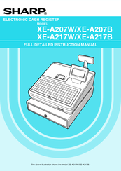 Sharp XE-A207B Full Detailed Instruction Manual