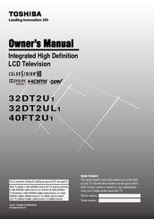 toshiba 32dt2u1 manuals rh manualslib com Toshiba 32DT2U1 Halogen Bulb Toshiba 32DT2U1 Replacement Bulbs