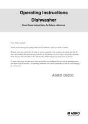 asko d5233 manuals rh manualslib com