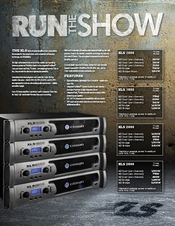 Xls 1500 | crown audio professional power amplifiers.