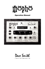 dave smith instruments mopho keyboard operation manual pdf download rh manualslib com dsi tetra manual pdf dave smith mopho x4 manual