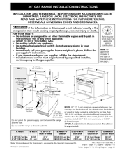 electrolux icon professional e36gf76jps manuals electrolux icon professional e36gf76jps installation instructions manual