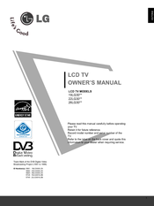 LG 26LG3000-ZA Owner's Manual