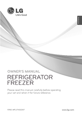 LG GCB399BVCA Owner's Manual