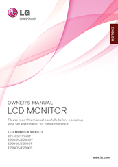 LG E1940S Owner's Manual
