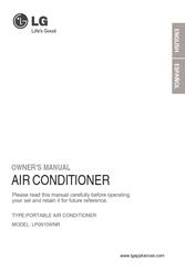 lg lp0910wnr manuals rh manualslib com LG Portable AC Manual LG Portable Air Conditioner Manual Flashing FL