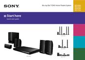 Sony BDV-E290 Start Here Manual