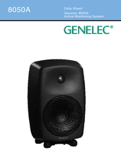 Genelec 8050a Manuals