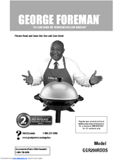 george foreman grill user manual