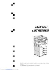 gestetner 3222 manuals rh manualslib com