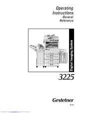 gestetner 3225 manuals rh manualslib com