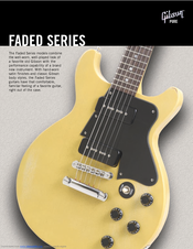 gibson sg special faded manuals rh manualslib com Gibson Les Paul gibson sg owners manual