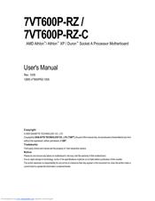 Gigabyte 7VM400M-RZ F5 Drivers Download Free