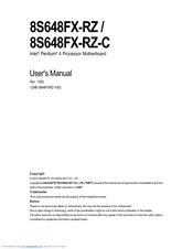 Gigabyte 8VT800-RZ F2 64 BIT