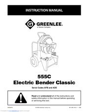 greenlee dm-40 instruction manual