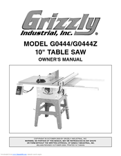 grizzly g0444 manuals rh manualslib com