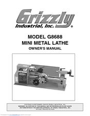 Grizzly G8688 Owner's Manual
