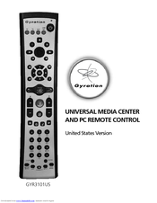 GYRATION REMOTE DRIVERS