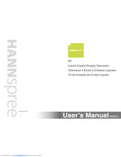 Hannspree hf237 manual.