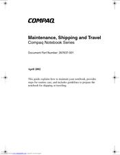 HP Compaq nc6230 Maintenance Manual