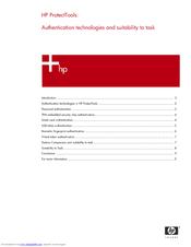 HP Compaq nc6230 Introduction Manual