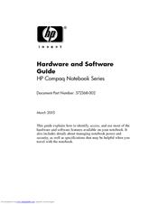 HP Compaq nc6230 Hardware And Software Manual