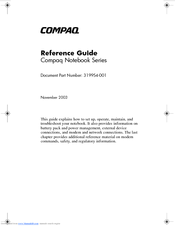 HP Compaq Presario,Presario 2146 Reference Manual