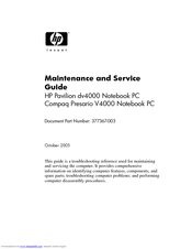 HP 0950-4107 - Power Supply - 200 Watt Maintenance And Service Manual