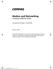 hp presario x1000 notebook pc manuals rh manualslib com Old Compaq Presario Windows 95 Compaq Presario