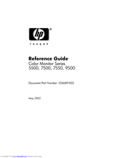 HP Officejet Pro 7500 Series Reference Manual