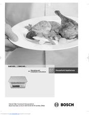 bosch dhe635bgb manuals rh manualslib com bosch cooker hood user manual Bosch UK Cookers