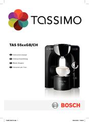 bosch tas5542gb instruction manual pdf download rh manualslib com T55 Tassimo Home Brewing System Tassimo T-Discs