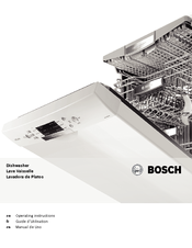 Bosch SHE9ER55UC Operating Instructions Manual