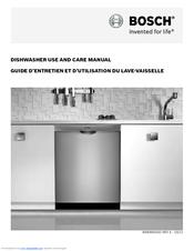 Bosch Shv68r53uc Manuals