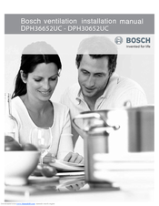 Bosch DPH30652UC Installation Manual