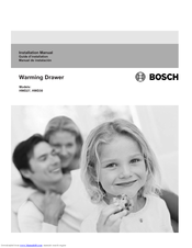 Bosch HWD3020UC Installation Manual