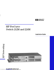 HP ProCurve 224 Installation Manual