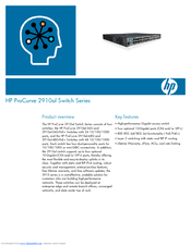 HP ProCurve 2910al-48G Specifications