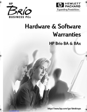 HP Brio BA200 Hardware Manual