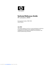 HP C8000 - Workstation - 0 MB RAM Technical Reference Manual