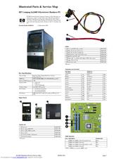 hp compaq dx2400 hardware manual pdf download rh manualslib com HP Dx2400 Motherboard Specs HP Dx2400 Memory Specs