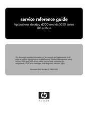 HP d325 - Microtower Desktop PC Reference Manual