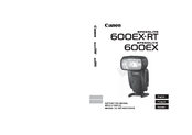 Canon Speedlite 600EX-RT Instruction Manual