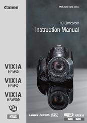 canon vixia hf m50 manuals rh manualslib com  canon vixia hf m50 manual español