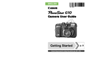 Canon PowerShot G10 - Digital Camera - Compact User Manual