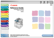 Canon imageCLASS MF7460 Reference Manual