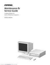 HP Deskpro EX P750 User Manual